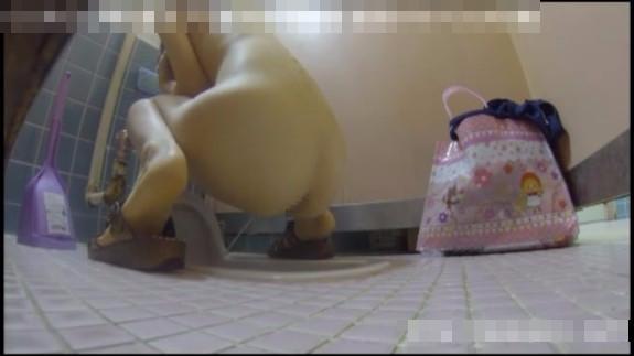 [無料動画]某プールの女子トイレ覗き見!