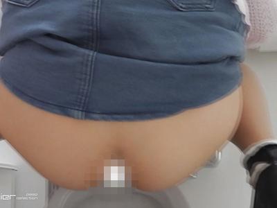 和式トイレ盗撮動画バックショット
