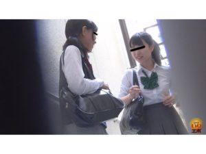 ピーピング雑居ビルトイレ お腹イタイ女子校生のゆるうんち 2