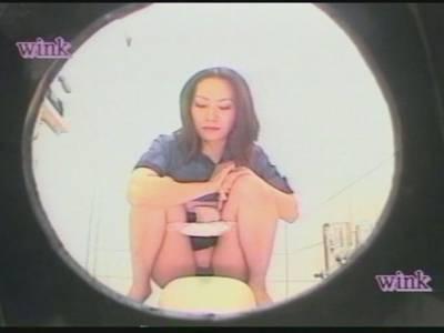 DVD女子社員専用便所13