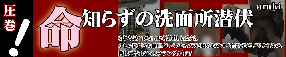 トイレ盗撮動画arakiシリーズ盗流悶