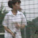 隠撮 テニスガール野グソ野ション 1