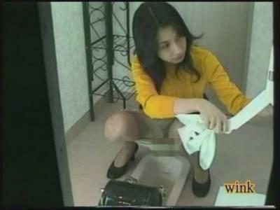 JADE-NET配信winkトイレ実録マジックミラー
