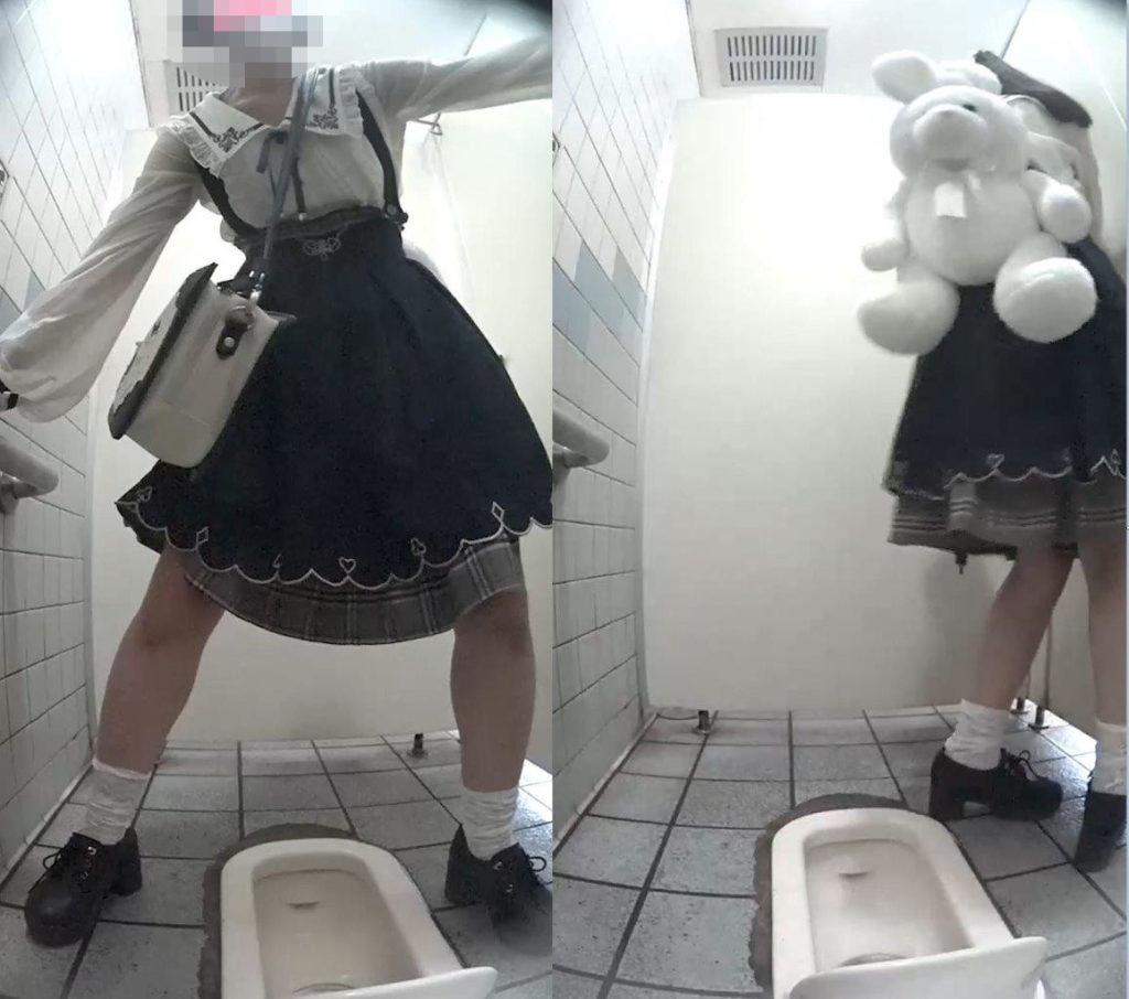 海のトイレを前から撮ってみたら33大好評オタサーの姫ちゃん再登場剥き栗タンポン大画面挿入娘もゲット